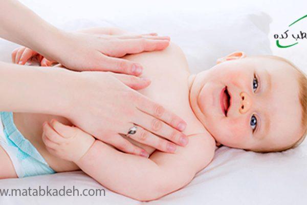 ماساژ نوزادان