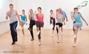 تمرینات هوازی برای درمان کمردرد