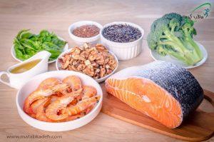 مصرف غذاهای حاوی امگا3 برای بیماران ام.اس