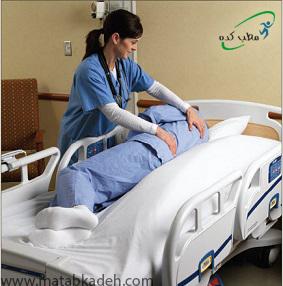 معاینه ی مرتب پوست برای جلوگیری از زخم بستر در ام.اس