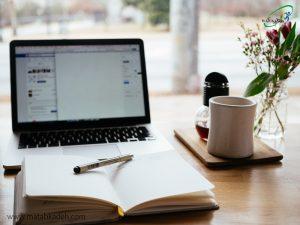 استفاده از یک دفترچه یا لپ تاپ برای کمک به حافظه ی بیمار ام.اس