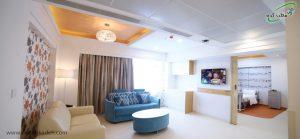 اتاق های زیبا مناسب زایمان در بیمارستان