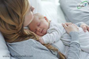 لذت داشتن نوزاد