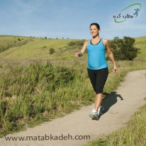 پیاده روی در بارداری