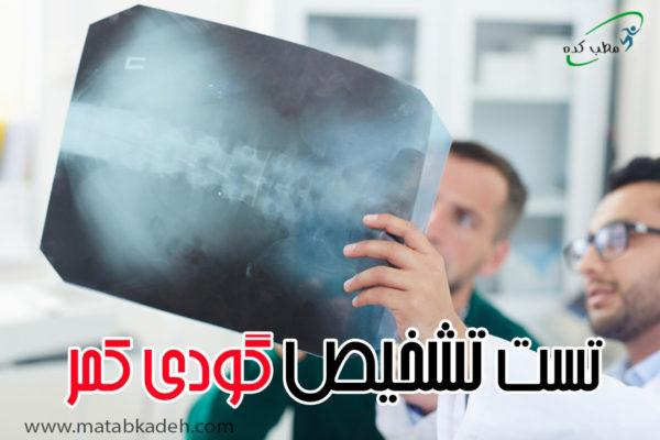 تست تشخیصی گودی کمر
